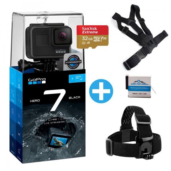 GoPro HERO7 Black camforpro Bundle V2