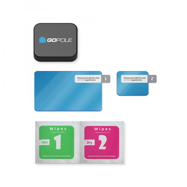GoPole Lens + LCD Protection Kit für HERO5-7 Black