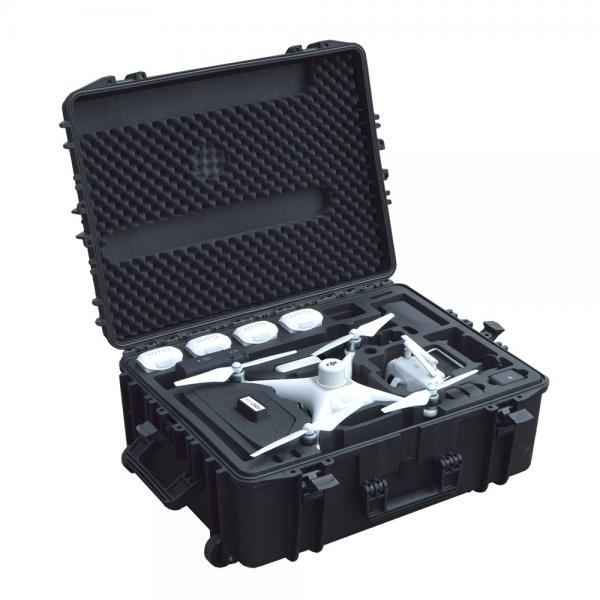 TOMcase Copter Case Phantom 4 RTK Basisstation black