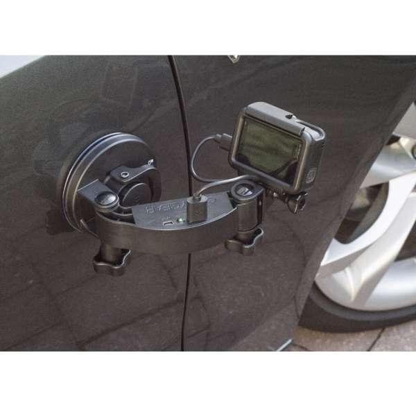 Codygear Powerbank Arm 2600mAh GoPro Suction Cup Bundle