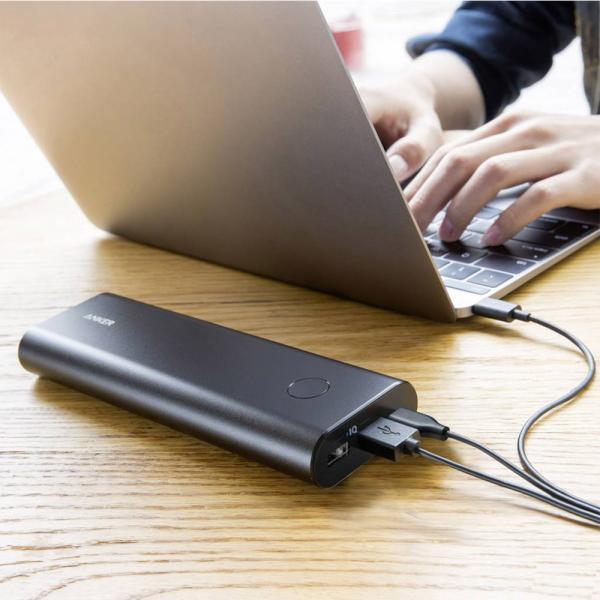 Anker PowerCore+ 20100 Powerbank USB-C Black