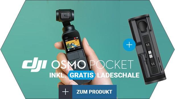 OSMO Pocket inkl. Ladeschale