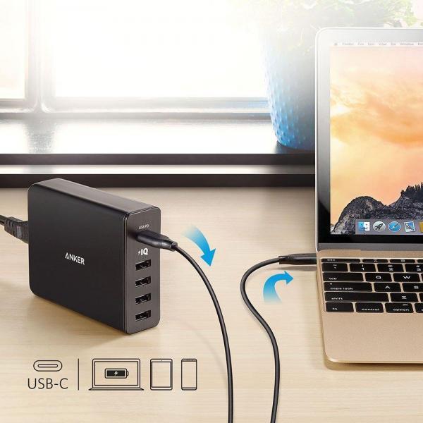 Anker PowerPort + Ladegerät incl USB-C