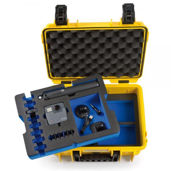 B&W Case 3000 Custom Einsatz für Fusion