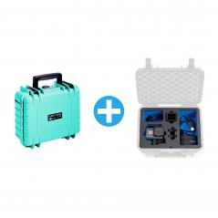 B/&W Case 3000 Custom Einsatz für GoPro Karma Grip