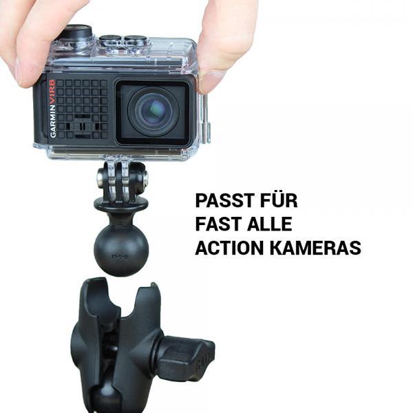 RAM MOUNTS Mountingset mit universeller Action Cam Halterung RAP-B-GOP2-A-GOP1U