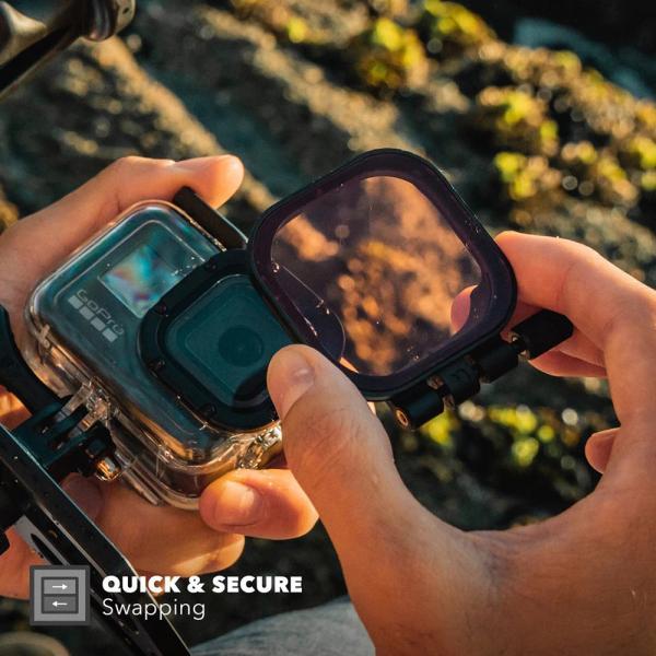 PolarPro Divemaster Filterset für HERO8 Black