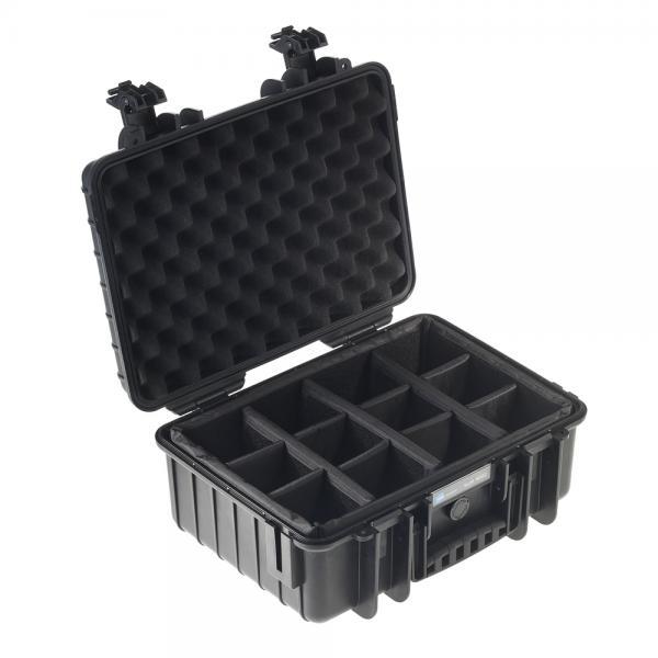 B&W Outdoor Case 4000 black