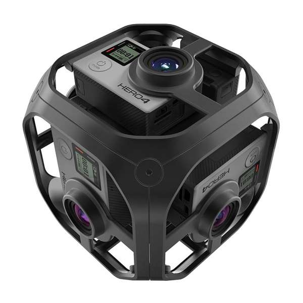 GoPro Omni Rig Komplettset für 360 Grad Filme REFURBISHED